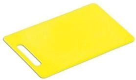Kesper Plastic Chopping Board 34 24 Yellow