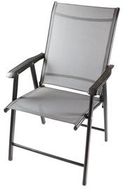 Dārza krēsls Besk Grey, 58x60x89 cm