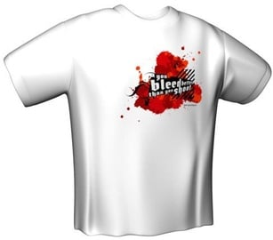 GamersWear You Bleed Better T-Shirt White XL