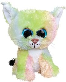 Mīkstā rotaļlieta Lumo Stars Lynx Aurora, 15 cm
