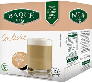 Cafe Baque White coffee кофейные капсулы , 10 таблеток