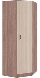 DSV Ronda ŠKUR782.1 Wardrobe Light/Dark Ash Shimo