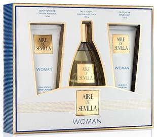 Komplekts sievietēm Instituto Español Aire De Sevilla Woman 3pcs Set 450 ml EDT