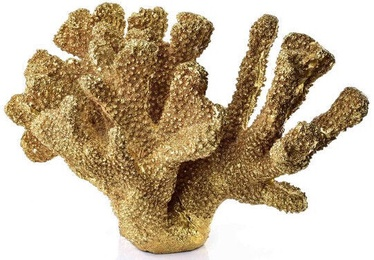 Mondex Samoa Coral Figure Gold 32.8x15x17.7cm