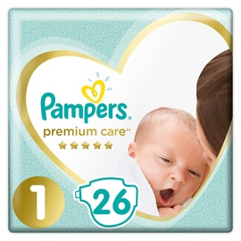 Pampers Premium Care S1 26