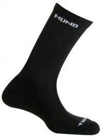 Zeķes Mund Socks Cross Country Skiing Black, M, 1 gab.
