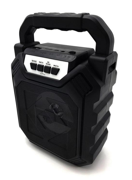 Bezvadu skaļrunis Media-Tech Playbox Shake MT3164 Black, 6 W