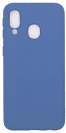 Evelatus Soft Touch Back Case For Samsung Galaxy A40 Dark Blue