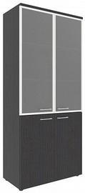 Skyland Xten XHC 85.7 Office Cabinet 85.6x195.5x43.2cm Legno Dark