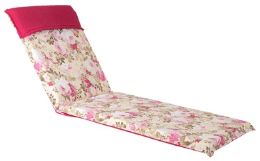 Home4you Florida Deck Chair Pad 60x200x7cm Rose