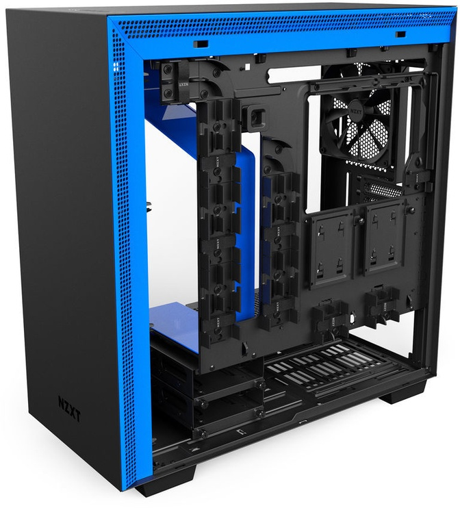 NZXT H700 Mid Tower E-ATX Black/Blue