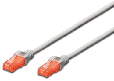 Digitus Patch Cable CAT 6 U/UTP 3m Grey