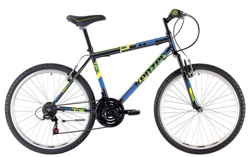"""Velosipēds Kenzel Prime DX80 Black/Green/Blue, 19"""", 26"""""""