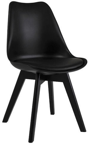 Ēdamistabas krēsls Signal Meble Kris II Black, 1 gab.