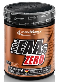 IronMaxx 100% EAAs Zero 500g Cola Lime