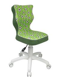 Bērnu krēsls Entelo Petit ST29 Green Football/White, 335x300x775 mm
