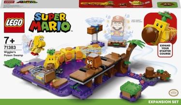 Konstruktors LEGO Super Mario Wiggler indīgā purva paplašinājuma maršruts 71383, 374 gab.