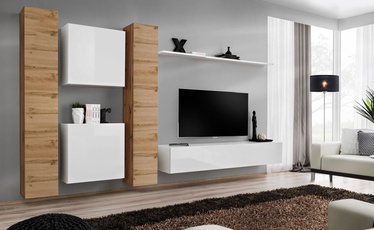 ASM Switch VI Wall Unit Wotan Oak/White