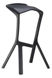 Bāra krēsls Signal Meble Volt Black, 1 gab.