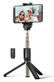 Personīgās nūjas BlitzWolf BW-BS3 3 in 1 Bluetooth Selfie Stick Black