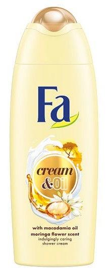 Dušas gēls Fa Cream & Oil Macadamia, 250 ml