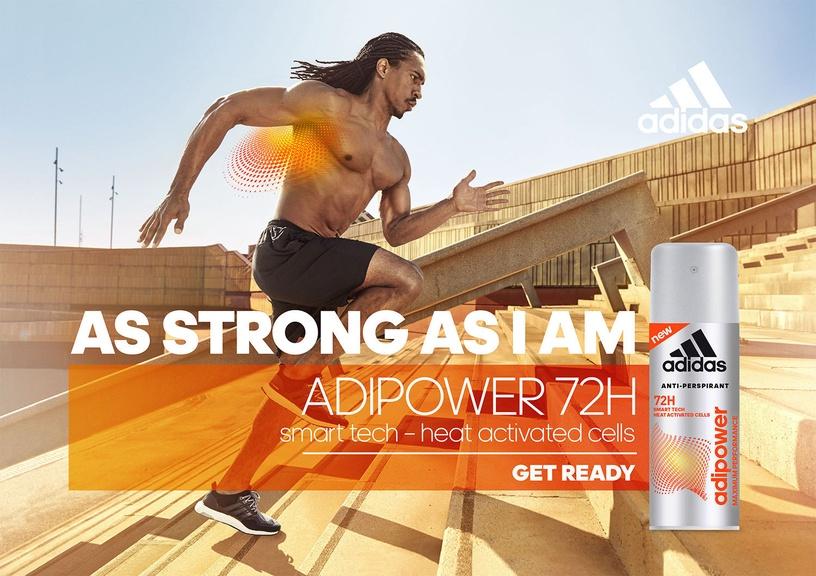 Adidas Adipower Anti-Perspirant Deodorant Roll On 50ml