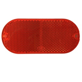 Autoserio Oval Reflectors Red 2pcs AFK0180