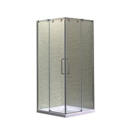 Dušas kabīne Masterjero K-073A, kvadrātveida, bez paliktņa, 800x800x1950 mm