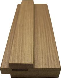 Durvju aploda 8x3,3x202,4cm, zelta ozols