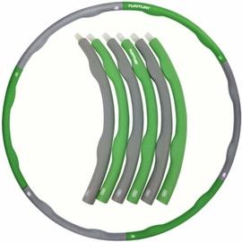 Vingrošanas loks Tunturi 14TUSFU188, 1000 mm, 1.2 kg, zaļa/pelēka