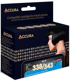 Accura Ink Cartridge HP No.338/343 18ml & 19ml Black/Color