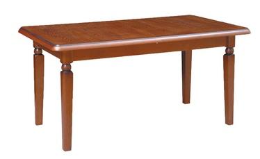 Pusdienu galds Black Red White Dsto 150 Walnut, 1600x900x780 mm