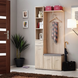 ASM Armario I w/ Pillow Hallway Wall Unit Set Sonoma Oak