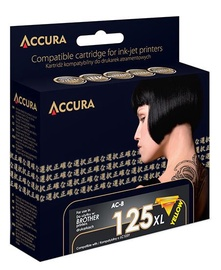 Accura Ink Cartridge Brother 14ml Yellow