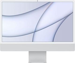 "Personālais dators Apple iMac / MGPC3ZE/A / 24"" Retina 4.5K / M1 8-Core GPU / 8GB RAM / 256GB Silver LT"