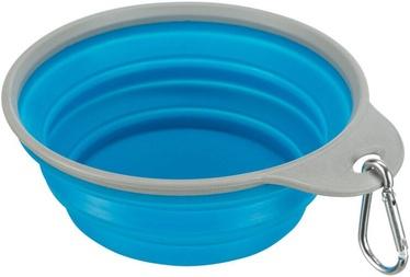 Trixie Travel Bowl Blue 0.5l