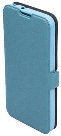 Telone Super Slim Shine Book Case For Samsung Galaxy S7 Blue