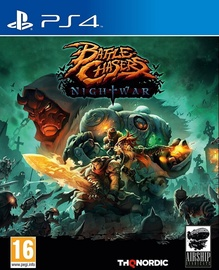 PlayStation 4 (PS4) spēle Battle Chasers: Nightwar PS4
