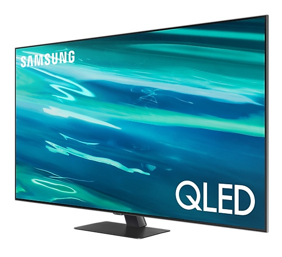 Телевизор Samsung QE55Q80AATXXH, QLED, 55 ″