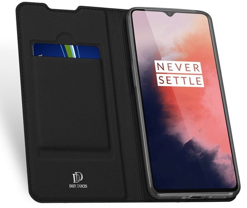 Dux Ducis Skin Pro Book Case For OnePlus 7T Black