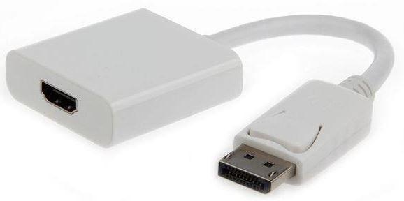 Gembird Adapter Displayport to HDMI White