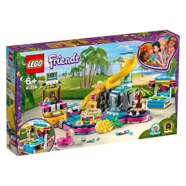 Konstruktors Lego Friends Andrea's Pool Party 41374