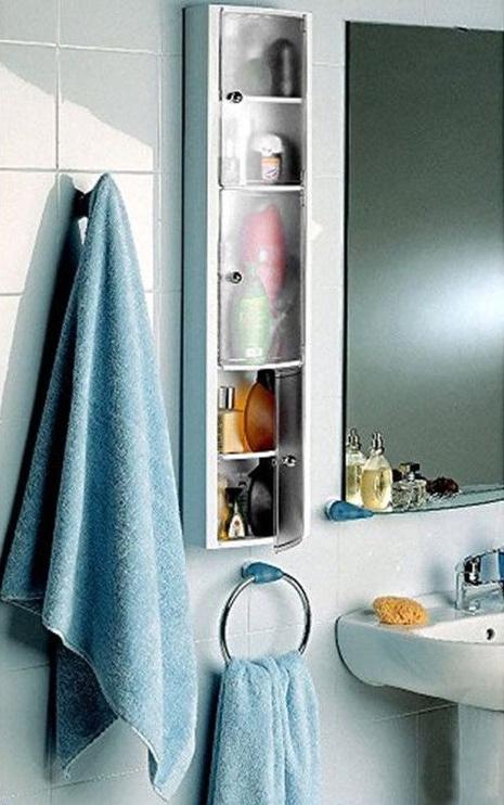 Vannas istabas skapītis Tatay Vertical White