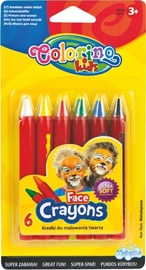 Patio Colorino Kids Face Crayons 32629PTR