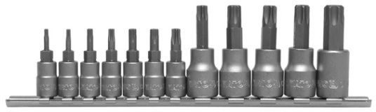 Yato YT-0433 Torx Star Bit Socket Security 12pcs