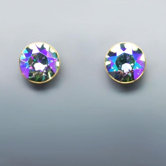 Diamond Sky Earrings Classic Paradise Shine With Swarovski Crystals