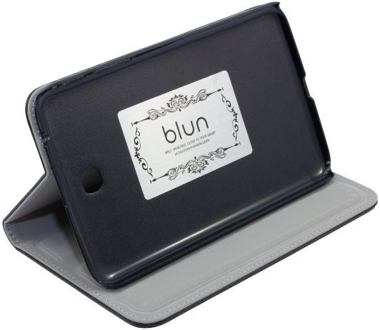 Blun TYS Eco Leather Book Case with Stand T230 Black