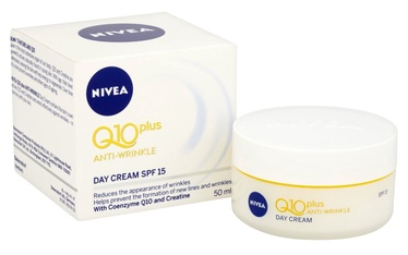 Sejas krēms Nivea Q10 Plus Anti Wrinkle Day Cream FP15, 50 ml