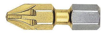 """Witte Screwdriver Bit FLEX TIN 1/4""""x25mm PZ3"""
