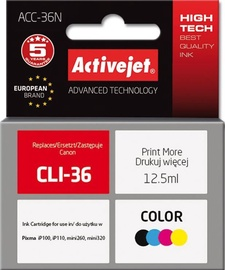 ActiveJet Cartridge ACC-36N For Canon 12.5ml MultiColor